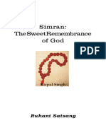 Simran by Sant Kirpal Singh English