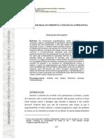 A VERDADE REAL DO DIREITO E A FICÇÃO DA LITERATURA - DOUGLAS CECCAGNO
