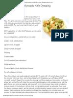 Potato Salad With Avocado Kefir Dressing - Thedigestersdilemma