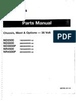 Manual NR4500P Serial Number 8NR3814900 -8NR3828904