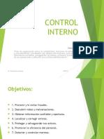 Control Interno Presentacion
