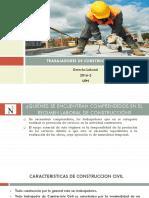 Trabajadores de Construcción Civil - REGIMEN PERUANO