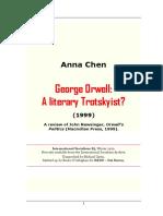 Anna Chen - George Orwell; A Literary Trotskyist