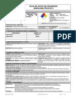 4cfd9 Hoja de Seguridad Grasa Multiple Extrema Presion Ep 2