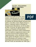 ( Espiritismo) - # - Jorge Hessen - Reencarnacao, Nao Somos Marionetes Da Materia.pdf