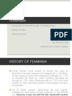 Feminism Theories