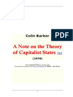 Colin Barker - The Theory of Capitalist States