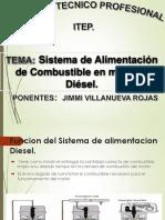 Sistema de Alimentacion de Combustible en Motores Diesel JIMMY