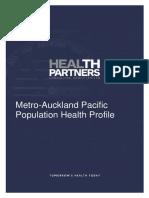 Metro Auckland Pacific Population Health Profile April2103