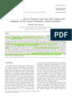 Hasiah, 1999- Oil Generarting Potential of Coals of Nyalau Fm