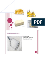 Baking Ingredients and Function