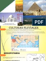 CULTURAS FLUVIALES (Mesopotamia Egipto China India)