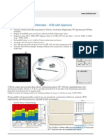 107Bi With Headphone and 3 Page Catalogue