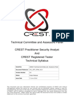 Crest Crt Cpsa Technical Syllabus 2.0