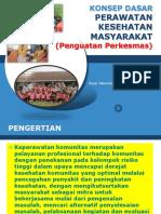 Konsep Perkesmas 2016 (Pelatihan)