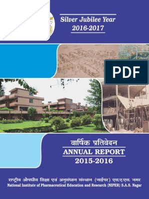 AnnualReport_2015_16 pdf | Natural Products | Doctor Of