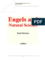 Paul McGarr - Engels and Natural Science