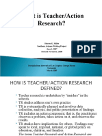What is Teacher Research