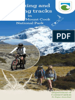 Walking & Cycling Tracks in Aoraki Mt Cook