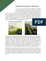 Broad Spectrum Disinfectant for Agriculture - Alstasan Silvox