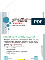datacommunication and networking