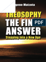 Eugene Matzota - Theosophy, The Final Answer - Stepping Into a New Age - Preview