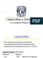 Litiasis Biliar y Colecistitis