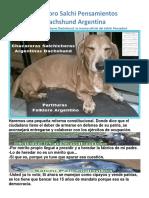 3er Libro Salchi Pensamientos Dachshund Argentina en PDF