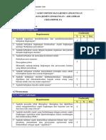 Checklist Audit Air Limbah