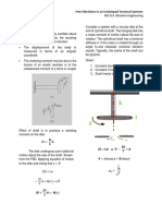 Torsional Vibration Handouts