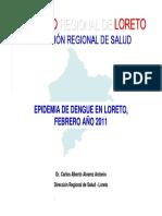 Situacion Dengue Loreto