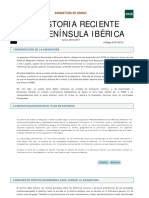 Pla d'Estudis Prehistoria Reciente de La Península Ibérica