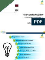 6.0 Verifikasi Komitmen 2017
