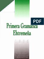 Primera Gramática Extremeña por Pablo Gonzálvez (1995) - Prólogo y Tema 1