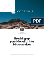 Codeship Breaking Up Your Monolith Into Microservices