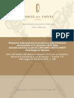 Relazione Gestione Economica Asl Chieti 2015