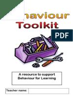 Qft - Leics Sips Behaviour Toolkit