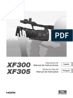 XF300 XF305 Instruction Manual ES PT
