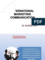 International Marketing Communication