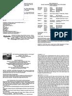 notice sheet 16th july 2017