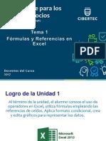 Tema 01 Fórmulas y Referencias