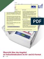 Digitaldrucker A3 A4
