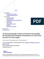 An Electromyography Analysis of 3 Muscles Surrounding the Sh... _ the Journal of Strength & Conditioning Research