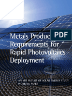 Solar Metals Production Working Paper 0505