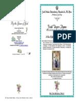 2017 - 20 JULY - VESPERS - St Elias Holy Prophet of God