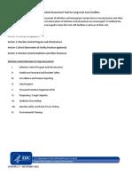 CDC IC Assessment Tool LTCF