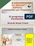 Programa de Formación bajo Competencias Laborales
