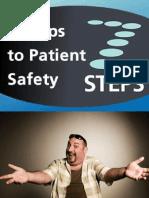 Tujuh Langkah Keselamatan Pasien
