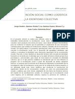 La Movilización Social como logística de la identidad colectiva - Publicado.pdf