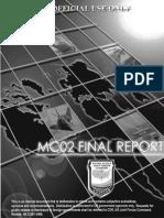12 F 0344 Millennium Challenge 2002 Experiment Report